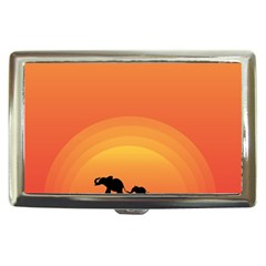 Elephant Baby Elephant Wildlife Cigarette Money Cases
