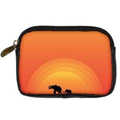 Elephant Baby Elephant Wildlife Digital Camera Cases