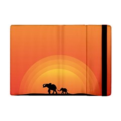 Elephant Baby Elephant Wildlife Apple Ipad Mini Flip Case by Nexatart