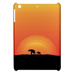 Elephant Baby Elephant Wildlife Apple Ipad Mini Hardshell Case by Nexatart