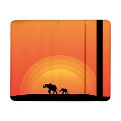 Elephant Baby Elephant Wildlife Samsung Galaxy Tab Pro 8 4  Flip Case