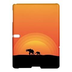 Elephant Baby Elephant Wildlife Samsung Galaxy Tab S (10 5 ) Hardshell Case