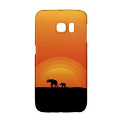 Elephant Baby Elephant Wildlife Galaxy S6 Edge