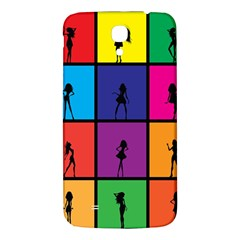 Girls Fashion Fashion Girl Young Samsung Galaxy Mega I9200 Hardshell Back Case by Nexatart