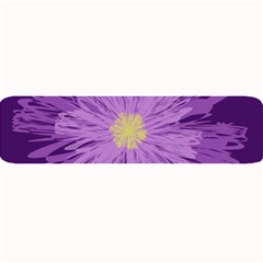 Purple Flower Floral Purple Flowers Large Bar Mats by Nexatart
