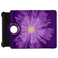 Purple Flower Floral Purple Flowers Kindle Fire HD 7