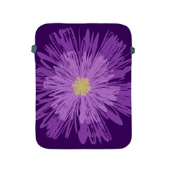 Purple Flower Floral Purple Flowers Apple Ipad 2/3/4 Protective Soft Cases by Nexatart