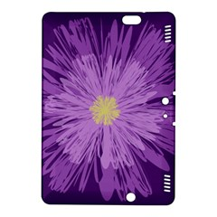 Purple Flower Floral Purple Flowers Kindle Fire Hdx 8 9  Hardshell Case by Nexatart