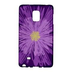 Purple Flower Floral Purple Flowers Galaxy Note Edge by Nexatart