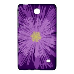 Purple Flower Floral Purple Flowers Samsung Galaxy Tab 4 (7 ) Hardshell Case  by Nexatart