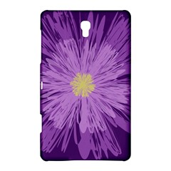 Purple Flower Floral Purple Flowers Samsung Galaxy Tab S (8 4 ) Hardshell Case