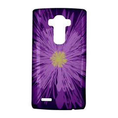 Purple Flower Floral Purple Flowers Lg G4 Hardshell Case