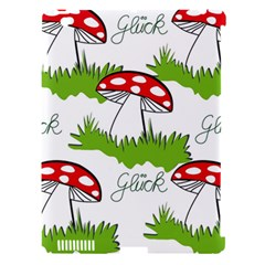 Mushroom Luck Fly Agaric Lucky Guy Apple Ipad 3/4 Hardshell Case (compatible With Smart Cover) by Nexatart