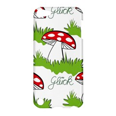 Mushroom Luck Fly Agaric Lucky Guy Apple Ipod Touch 5 Hardshell Case