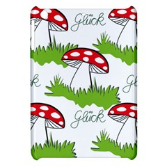 Mushroom Luck Fly Agaric Lucky Guy Apple Ipad Mini Hardshell Case by Nexatart