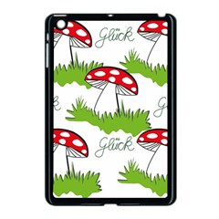 Mushroom Luck Fly Agaric Lucky Guy Apple Ipad Mini Case (black)
