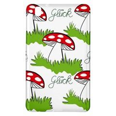 Mushroom Luck Fly Agaric Lucky Guy Samsung Galaxy Tab Pro 8 4 Hardshell Case