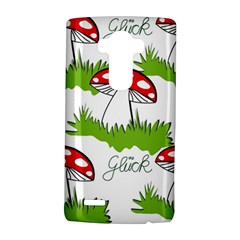 Mushroom Luck Fly Agaric Lucky Guy Lg G4 Hardshell Case by Nexatart