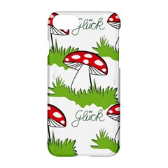 Mushroom Luck Fly Agaric Lucky Guy Apple Iphone 7 Hardshell Case by Nexatart