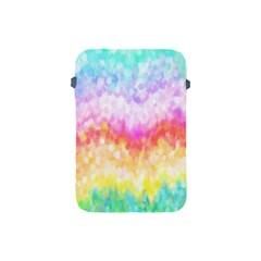 Rainbow Pontilism Background Apple Ipad Mini Protective Soft Cases by Nexatart