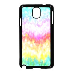 Rainbow Pontilism Background Samsung Galaxy Note 3 Neo Hardshell Case (black)