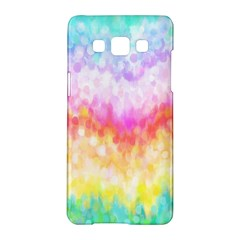 Rainbow Pontilism Background Samsung Galaxy A5 Hardshell Case