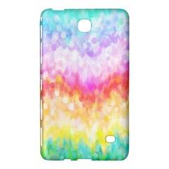 Rainbow Pontilism Background Samsung Galaxy Tab 4 (8 ) Hardshell Case