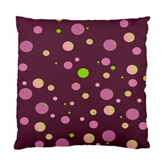 Decorative Dots Pattern Standard Cushion Case (two Sides) by ValentinaDesign