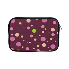 Decorative Dots Pattern Apple Ipad Mini Zipper Cases by ValentinaDesign