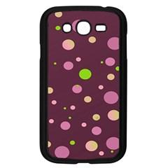 Decorative Dots Pattern Samsung Galaxy Grand Duos I9082 Case (black) by ValentinaDesign