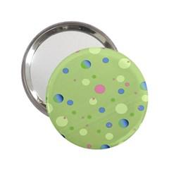 Decorative Dots Pattern 2 25  Handbag Mirrors by ValentinaDesign