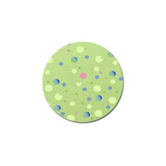 Decorative Dots Pattern Golf Ball Marker (10 Pack) by ValentinaDesign