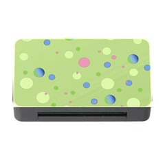 Decorative Dots Pattern Memory Card Reader With Cf by ValentinaDesign