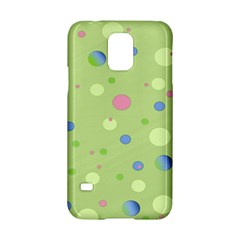Decorative Dots Pattern Samsung Galaxy S5 Hardshell Case  by ValentinaDesign