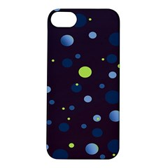Decorative Dots Pattern Apple Iphone 5s/ Se Hardshell Case by ValentinaDesign