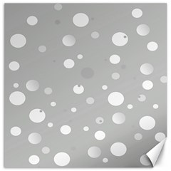 Decorative Dots Pattern Canvas 16  X 16   by ValentinaDesign