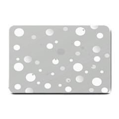 Decorative Dots Pattern Small Doormat  by ValentinaDesign