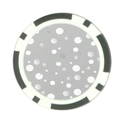 Decorative Dots Pattern Poker Chip Card Guard by ValentinaDesign