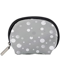 Decorative Dots Pattern Accessory Pouches (small)  by ValentinaDesign