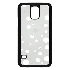 Decorative Dots Pattern Samsung Galaxy S5 Case (black) by ValentinaDesign