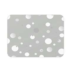Decorative Dots Pattern Double Sided Flano Blanket (mini)  by ValentinaDesign