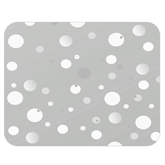 Decorative Dots Pattern Double Sided Flano Blanket (medium)  by ValentinaDesign