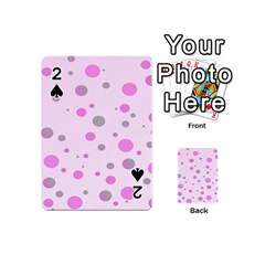 Decorative Dots Pattern Playing Cards 54 (mini)  by ValentinaDesign