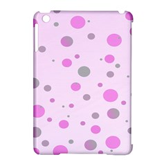 Decorative Dots Pattern Apple Ipad Mini Hardshell Case (compatible With Smart Cover) by ValentinaDesign