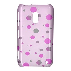 Decorative Dots Pattern Nokia Lumia 620 by ValentinaDesign