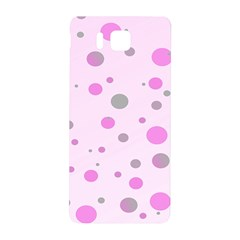 Decorative Dots Pattern Samsung Galaxy Alpha Hardshell Back Case by ValentinaDesign