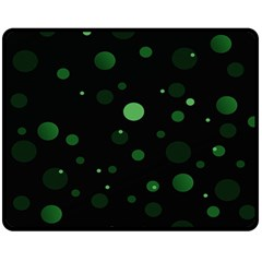 Decorative Dots Pattern Fleece Blanket (medium)  by ValentinaDesign