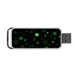 Decorative Dots Pattern Portable Usb Flash (two Sides) by ValentinaDesign