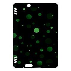 Decorative Dots Pattern Kindle Fire Hdx Hardshell Case by ValentinaDesign