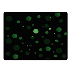 Decorative Dots Pattern Double Sided Fleece Blanket (small)  by ValentinaDesign